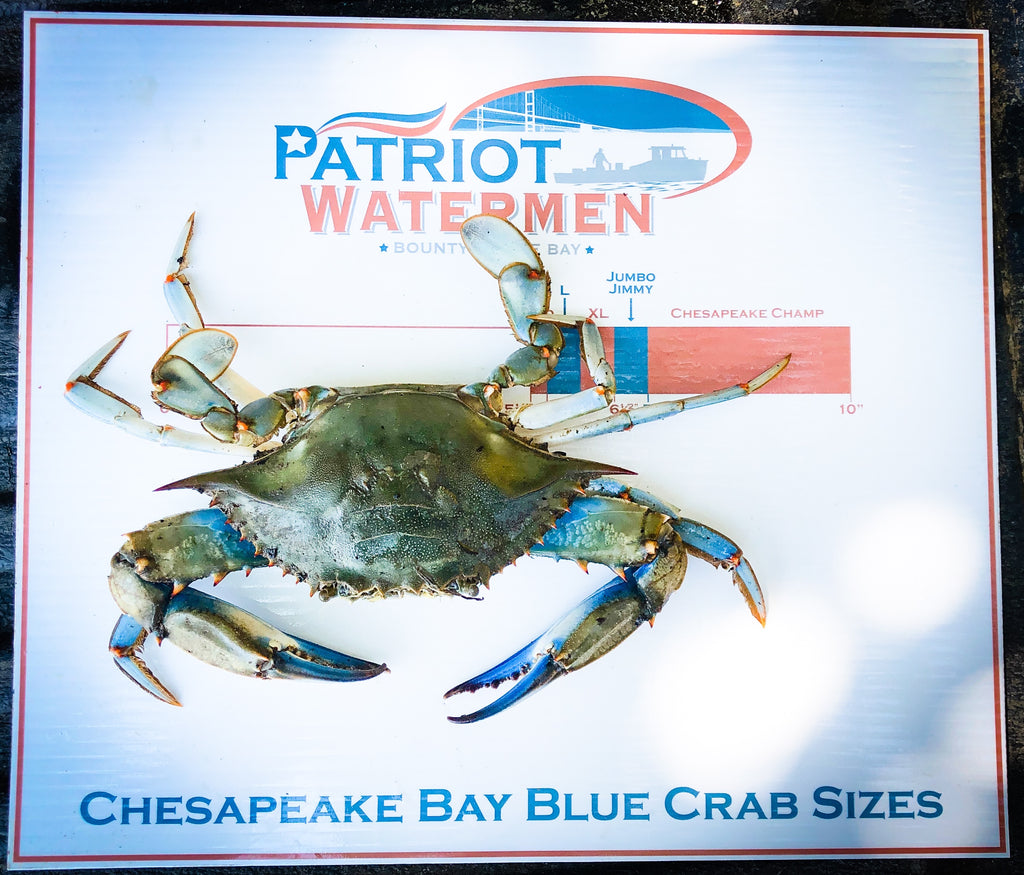 Chesapeake Bay Blue Crabs - Mixed Male Mega Bushel