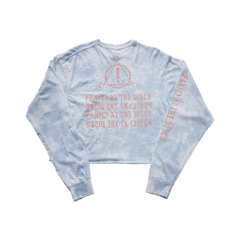 Cloud Wash Longsleeve Crop