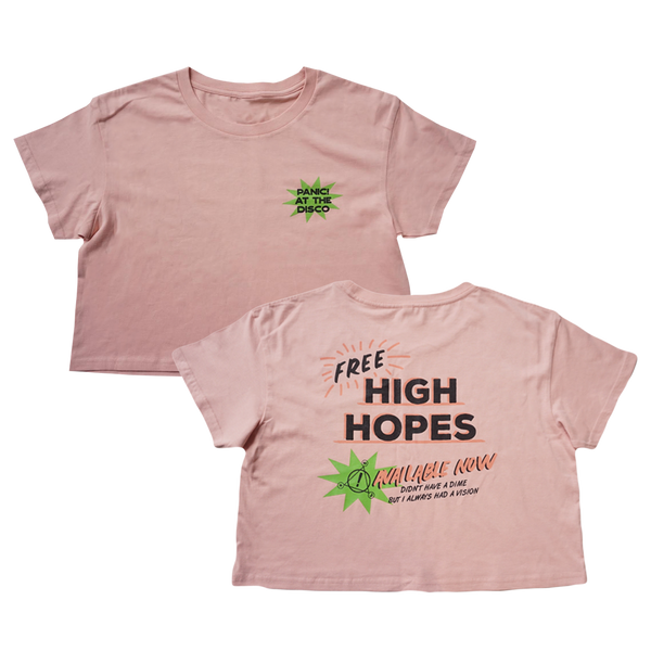 High Hopes Crop Tee
