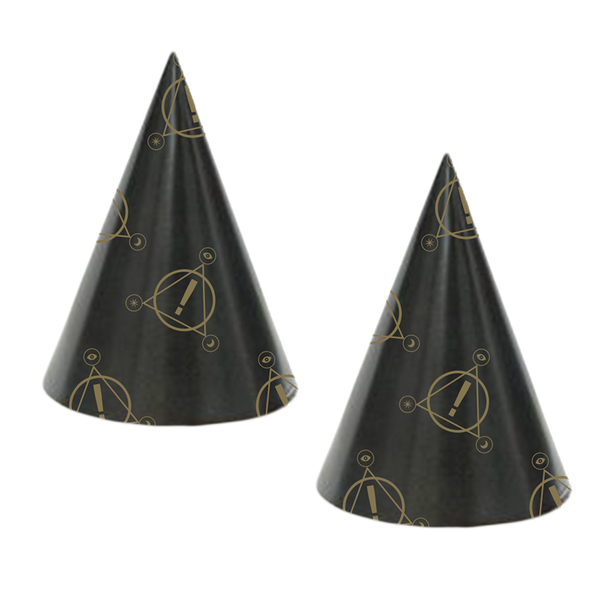 NYE Party Hats (2 pack)