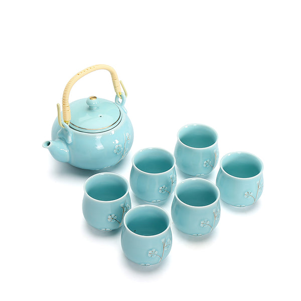 bestleaftea blue tea set