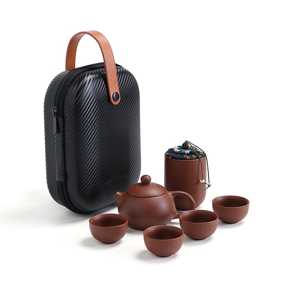 YiXing ZiSha Clay Teaset