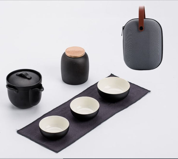 Gaiwan Travel Kongfu Tea Set