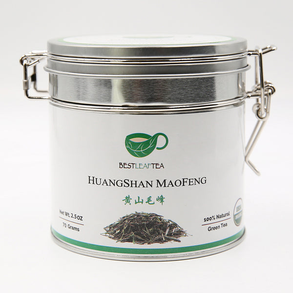 Spring Picked Organic HuangShan MaoFeng Green Tea