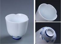 BESTLEAFTEA- Traditional Chinese Gaiwan Tea Set Ceramic  KongFu Porcelain gaiwan set