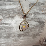 Gold Crystal Opal Pendant found near the famous shell patch field 056C