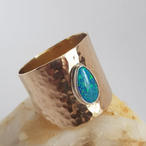 BOHO Opal Rings - made to order!