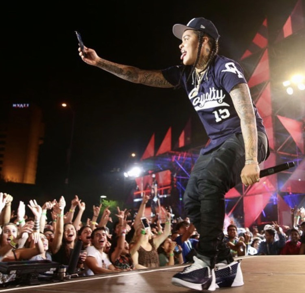 Young mA at the MTV Woodie Awards