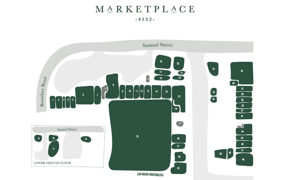 Camp Hill Marketplace map