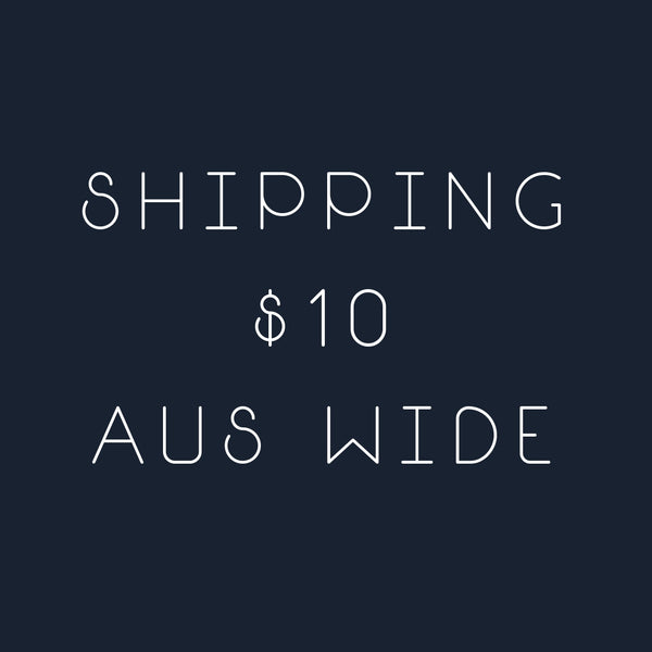 Domestic Shipping - Flat rate Australia wide $10 - Petit Barcelona Avarcas