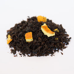 Cinnamon Orange Spice flavored black tea