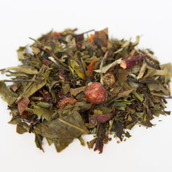 Cranberry Pomegranate flavored white tea