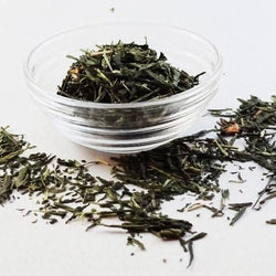 Apple Sencha flavored green tea