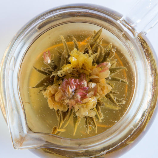 Grape Green Blooming tea
