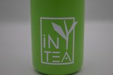 iN-TEA sticker on bottle