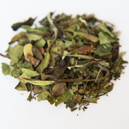 Winter Spice white tea
