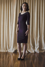 The Lancaster Dress - Chambord