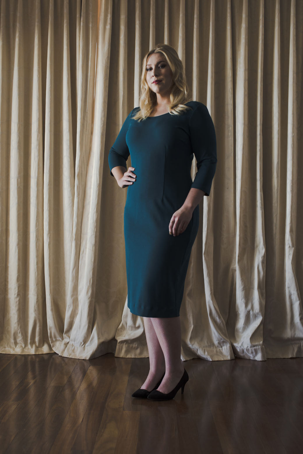 The Lancaster Dress - Deep Teal -SOLD OUT-