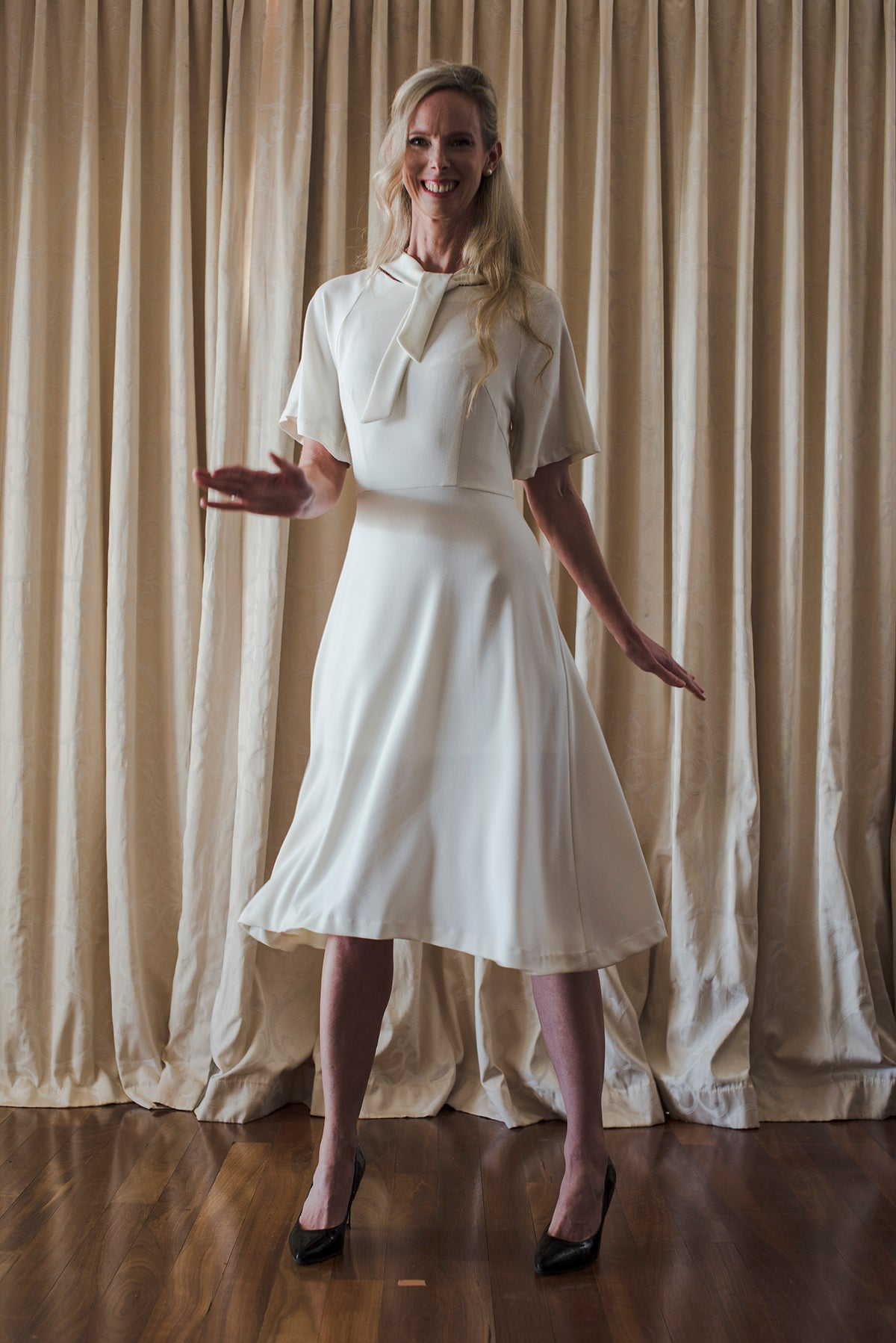 Amy Johnson Dress - Casablanca