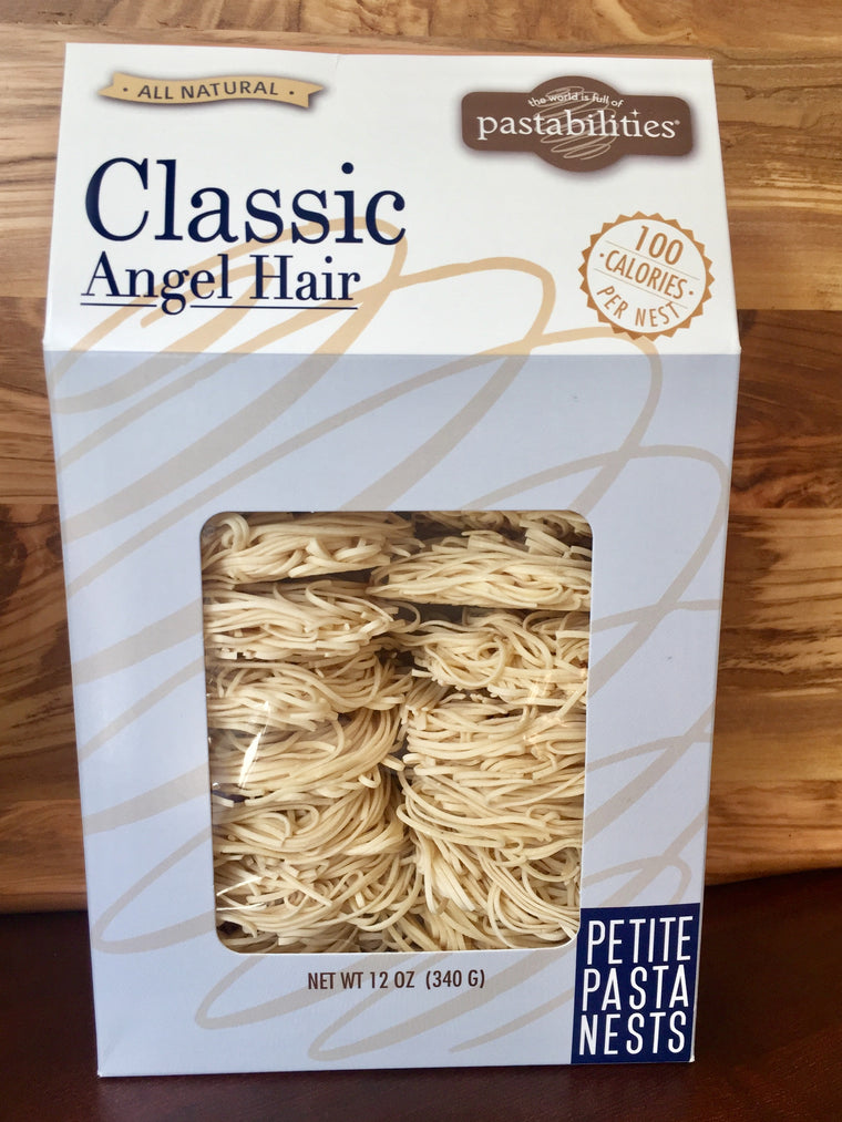 Classic Angel Hair Pasta Nests