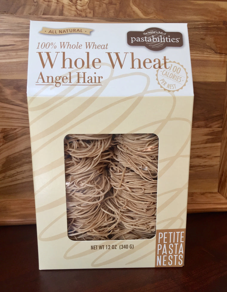 Whole Wheat Angel Hair Pasta Nests