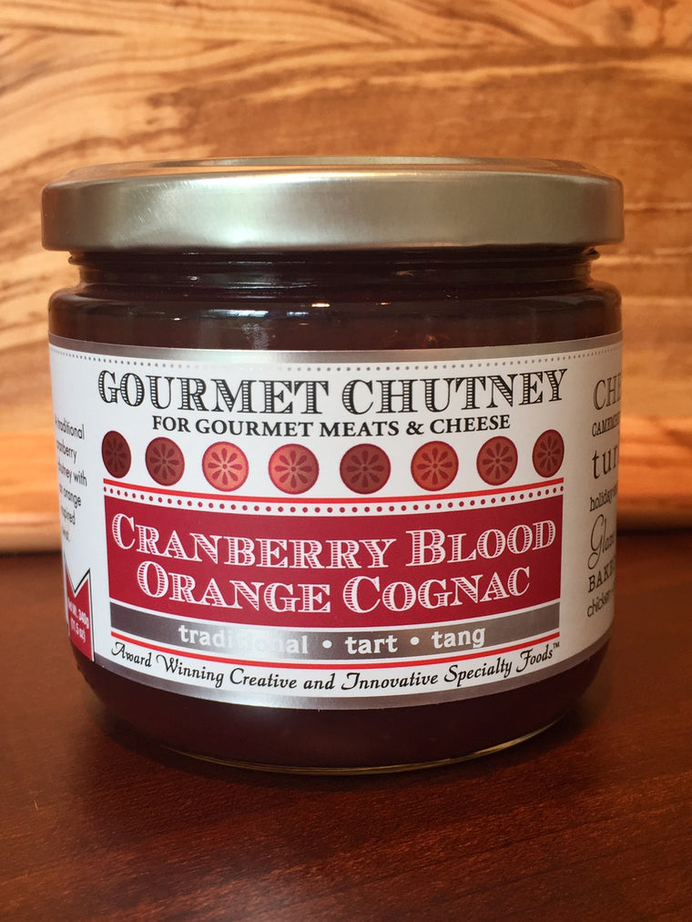 Cranberry Blood Orange Chutney