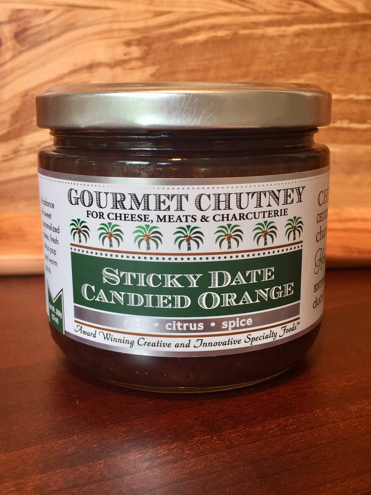 Sticky Date Candied Orange Chutney