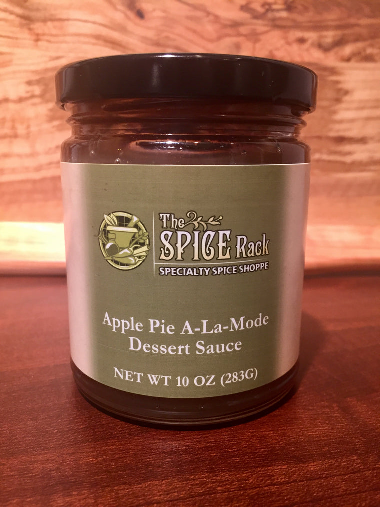 Apple Pie A-La-Mode Dessert Sauce