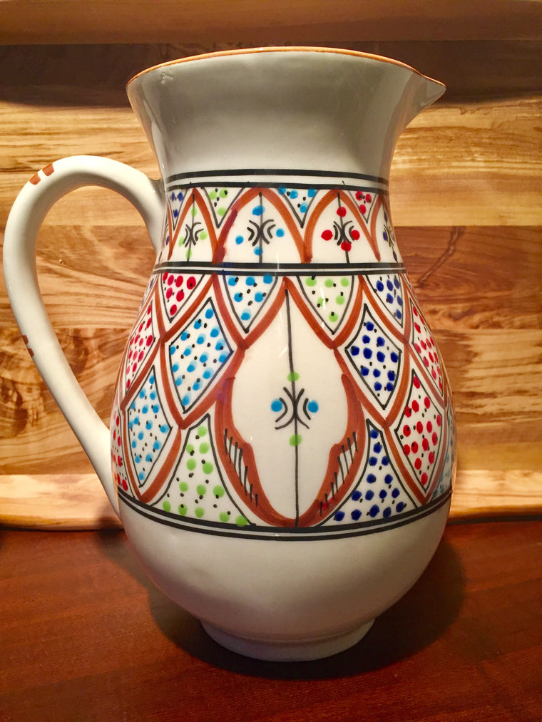 Amira Collection Handmade Ceramic Pitcher