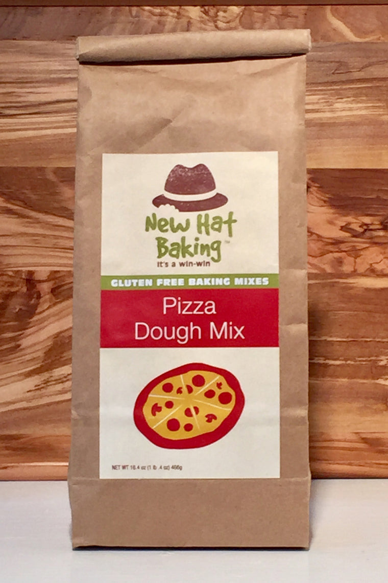 New Hat Baking Gluten-Free Pizza Dough Mix