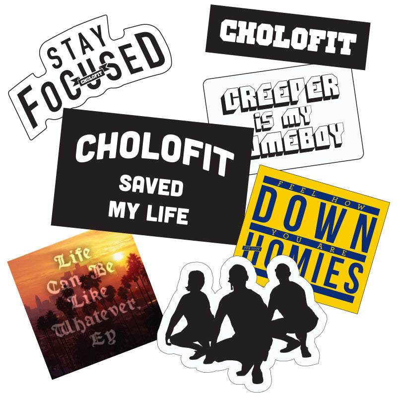 Cholofit Sticker Pack