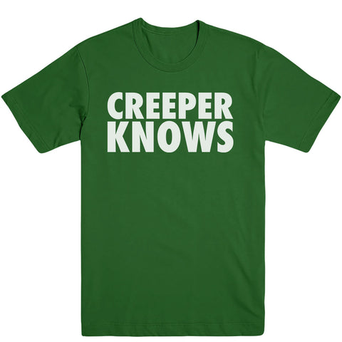 Creeper Knows Men's Tee