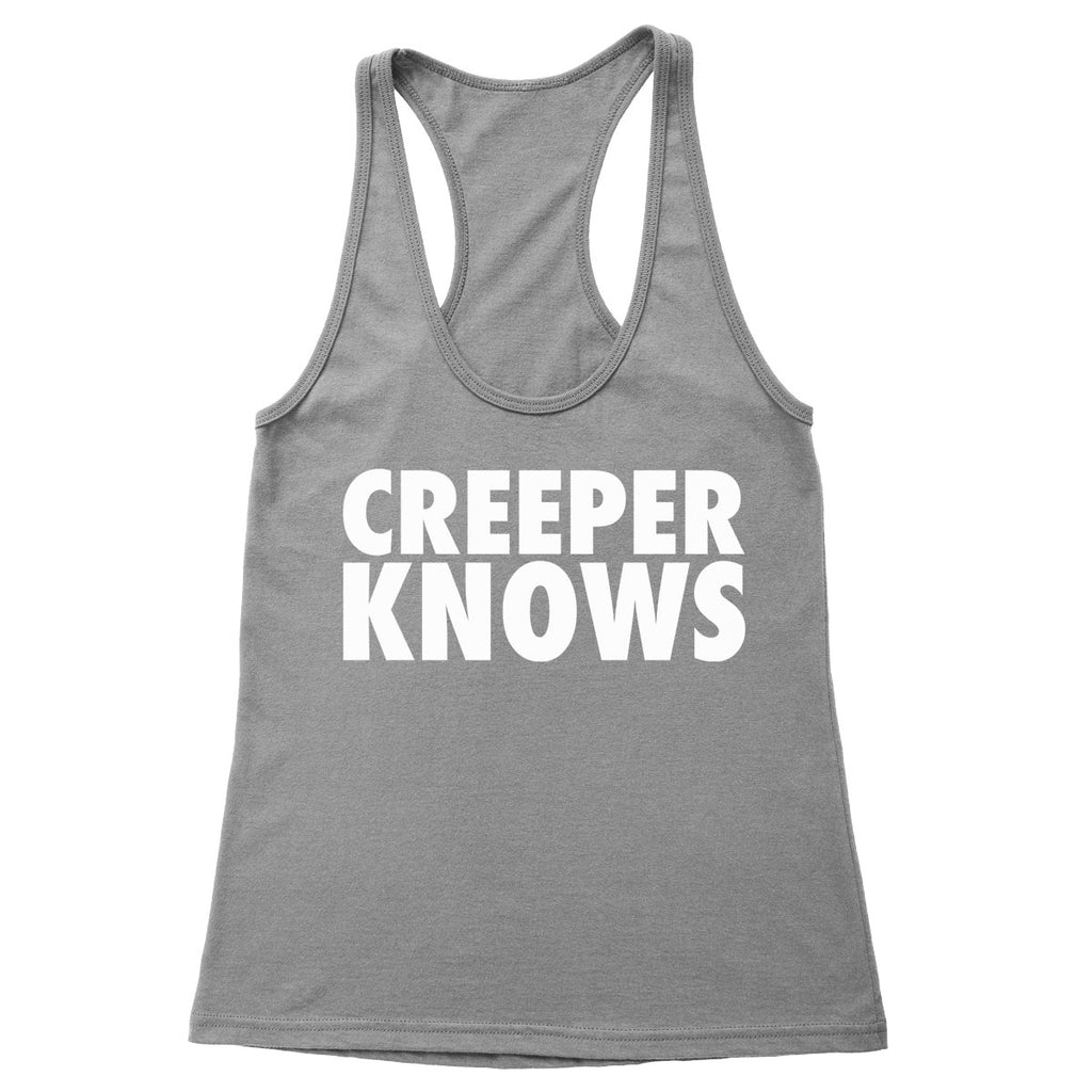 Creeper Knows Women's Racerback Tank