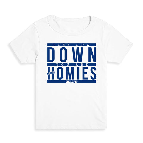 Down For Your Homies Kid's Tee