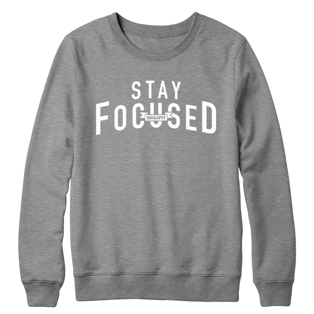 Stay Focused Crewneck