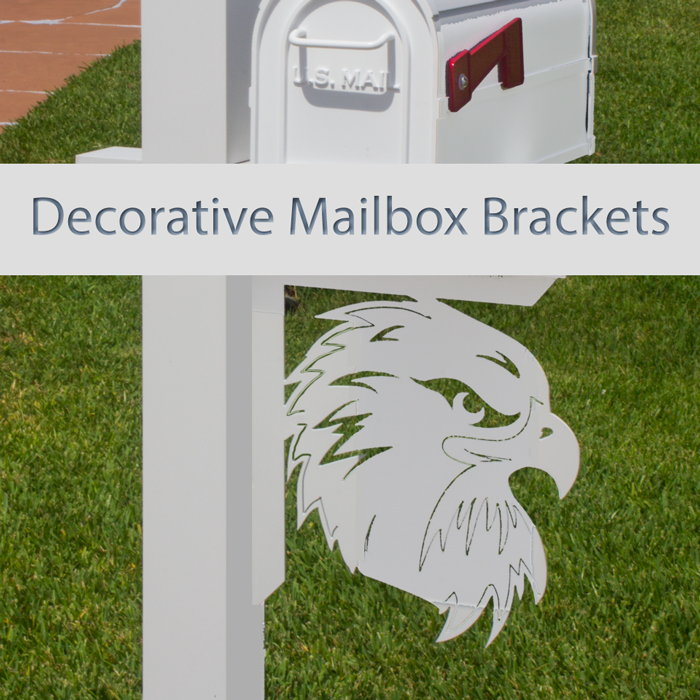 Decorative Mailbox Brackets