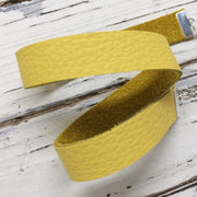 ANGEL - WRAP BRACELET / CHOKER NECKLACE - handmade by Brandy Bell Design ||  MATTE BRIGHT YELLOW