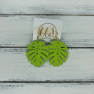 LIMITED EDITION *METAL* PALM COLLECTION ||  <BR>  LIME (GOLD HOOK)