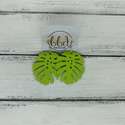 LIMITED EDITION *METAL* PALM COLLECTION ||  <BR>  LIME (SILVER HOOK)