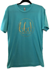 BBD T-Shirt | Tahiti Blue/Yellow Gold Unisex Shirt