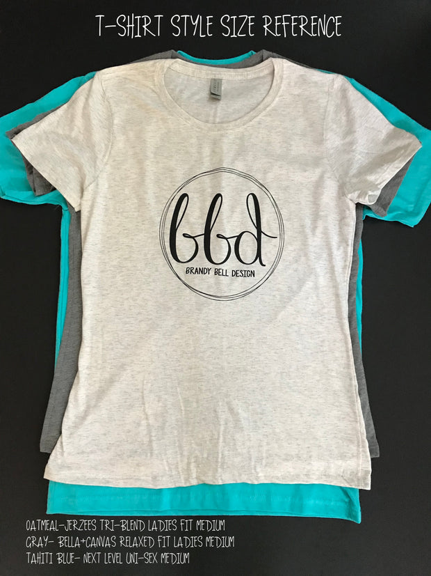 BBD T-Shirt | Mint/Yellow Gold Unisex Shirt