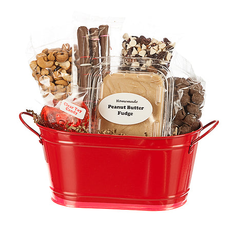 E&A Favorites Chocolate Lovers Assortment in Mini Red Tin