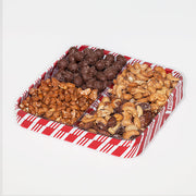 Nut tray square, large, approx. 2 lbs