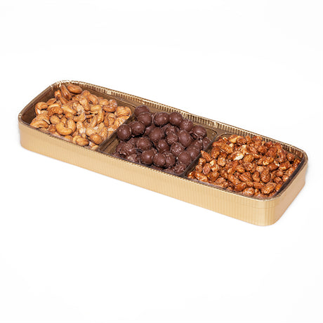 Nut tray, rectangle, approx. 1.5 lbs