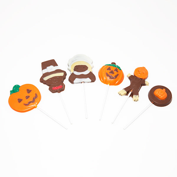 Chocolate Lollipops, Fall, 12 Pops