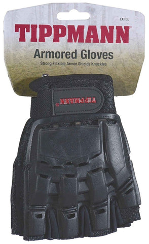 TIPPMANN 1/2 FINGERED ARMORED GLOVES