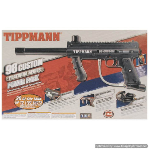 Tippmann 98 Custom PS NON ACT RTP Ready To Play Power Pack