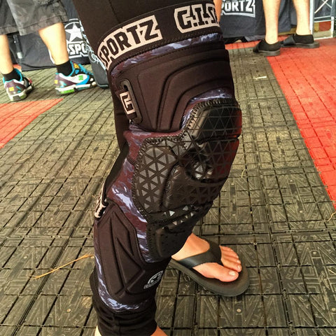 GI SPORTZ Race 2.0 Knee Pads - Punishers Paintball