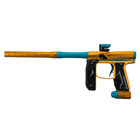 Empire Axe 2.0 Paintball Gun - Dust Orange / Aqua