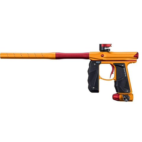 Empire Paintball Mini GS Marker w/ 2 Piece Barrel - Dust Orange / Red